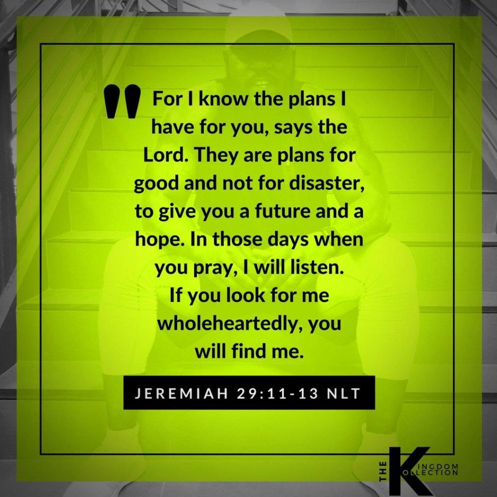 Jeremiah 29: 11-13